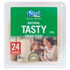 Picture of REAL TASTY CHEESE SLICES 250G